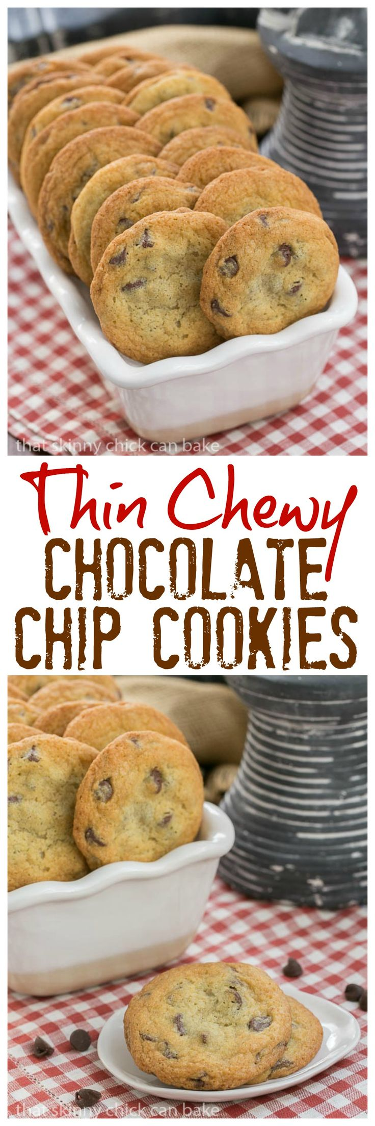 Best 20+ Chewy chocolate chip cookies ideas on Pinterest ...