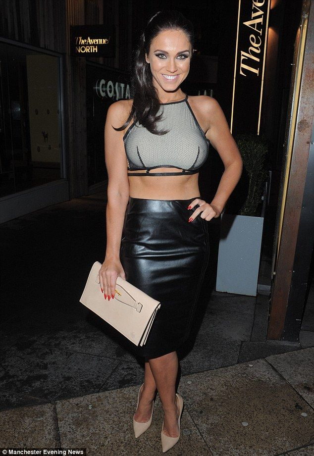 Stepping out in style: Vicky Pattison showed off her incredible frame as she partied at Ma...
