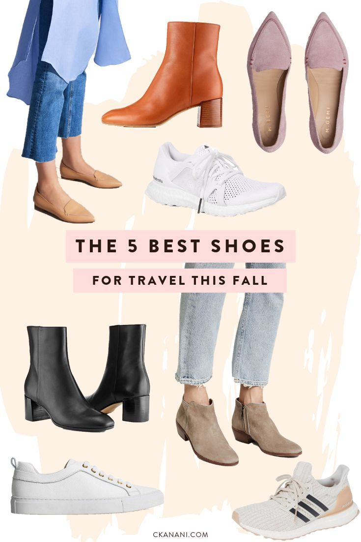 Best Shoes for Travel: Flats, Boots