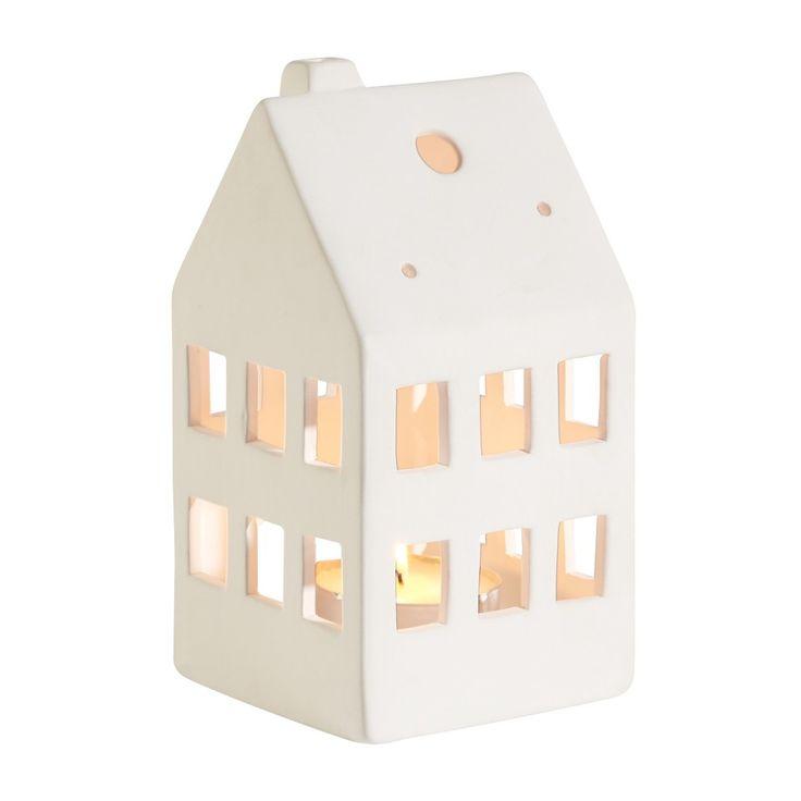 Casa portacandela (bianca) - JYSK