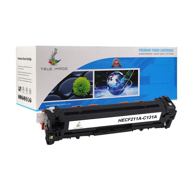 TRUE IMAGE HECF211A-C131A Cyan Toner Replaces HP CF211A C131A
