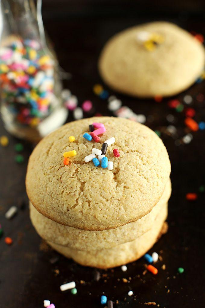 Easy Gluten Free Sugar Cookies | minimalistbaker.com: Gluten Free Baking, Gluten Fre Sugar, Gf Cookies, Soft Gluten, Baking Mixed, Easy Gluten Free Sugar Cookies, Sugar Cookies Minimalist Baker, Soft Sugar Cookies, Baker Recipes