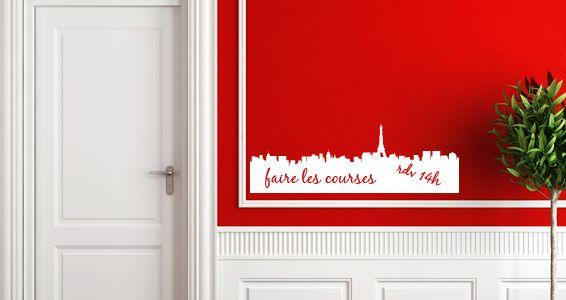 Sticker Sticker Ardoise velleda Paris