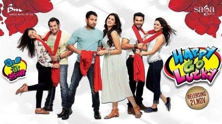 Happy Go Lucky (2014) Punjabi Movie WebHD 720P ESubs Movie