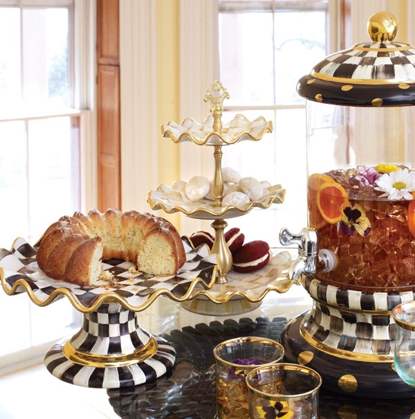 Remember To Stock Butler S Pantry With All Mackenzie Childs Dishes And Serving Pieces