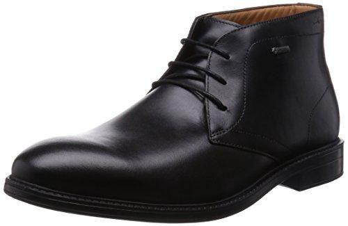 Oferta: 140€ Dto: -42%. Comprar Ofertas de Clarks Chilver Hi GTX - botas de cuero hombre, color negro, talla 44.5 barato. ¡Mira las ofertas!