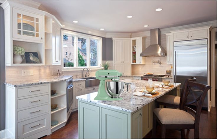 pistachio green kitchenaid mixer - Google Search