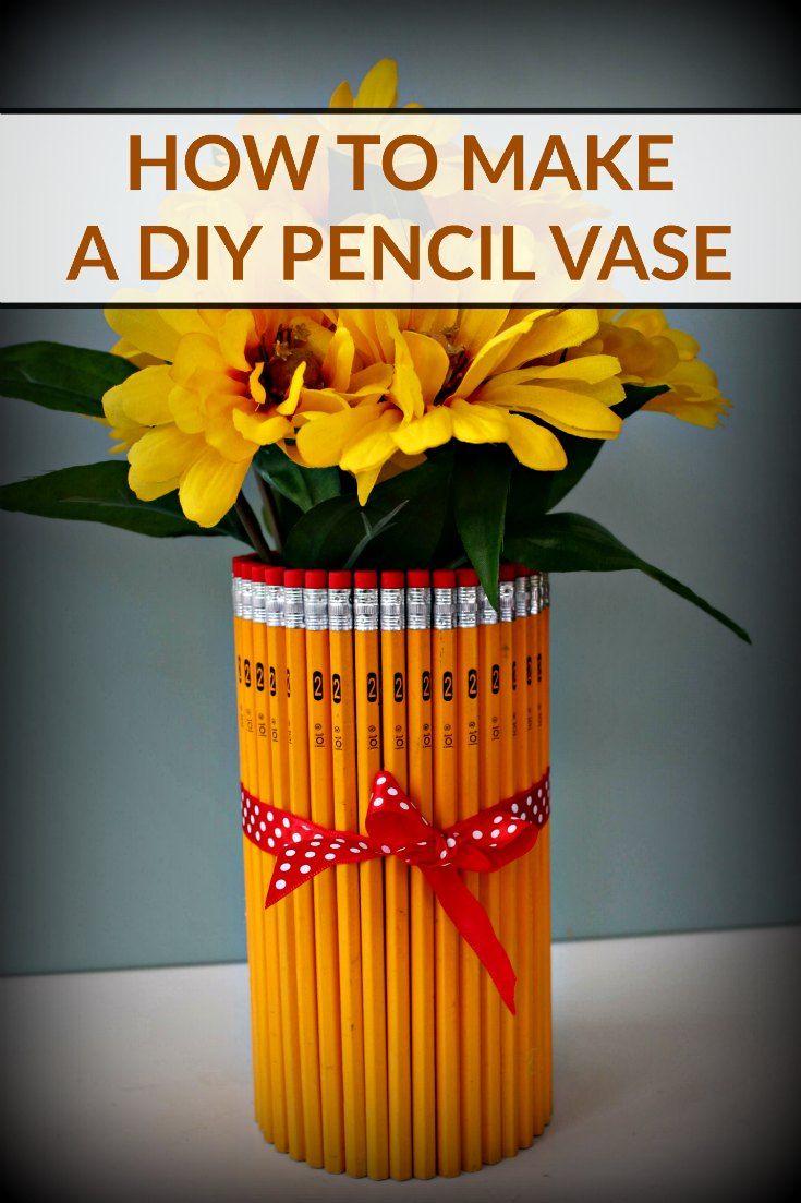 How to Make a DIY Pencil Vase Tutorial