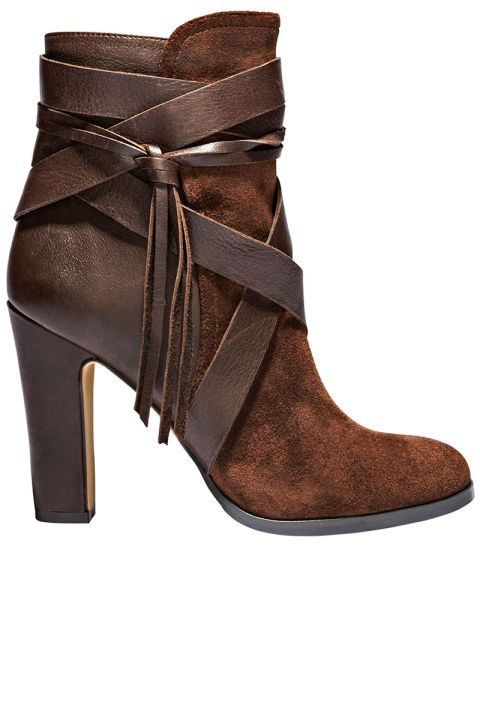 Vince Camuto booties, $169, vincecamuto.com.
