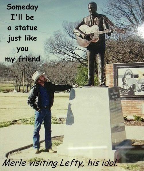 merle haggard lefty frizzell