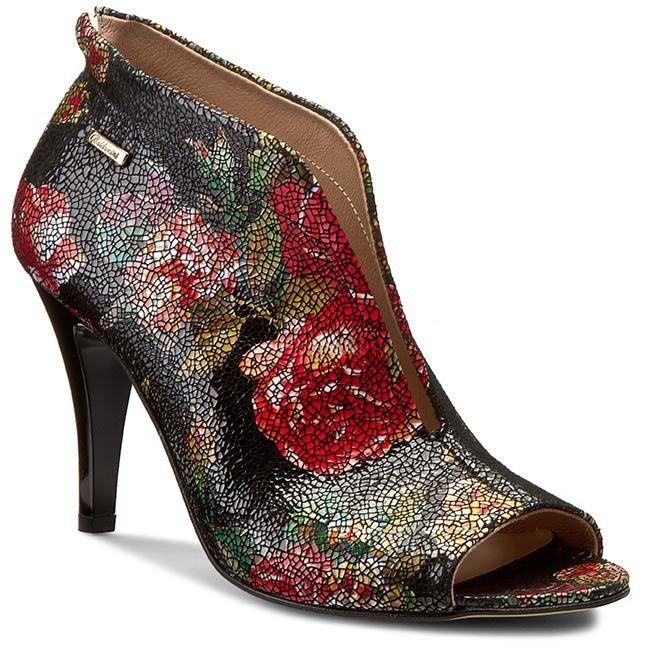 Členková obuv BALDACCINI - 757500-621 Róże Czarne/J