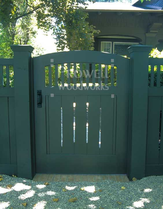 Craftsman Gate by Charles Prowell