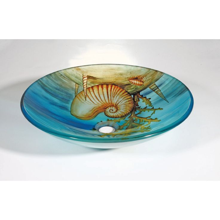 Images Photos This bathroom sink features a inch thick tempered glass construction This bowl sink