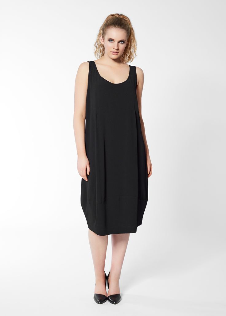 With Virtue Dress in Black by Euphoria Design