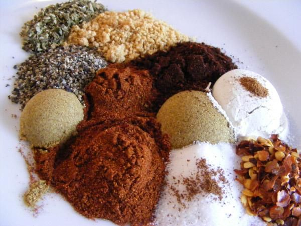 Mexican Seasoning Mix- Sprinkle some of this spice on prawns with a squeeze of lime juice and some oil and marinade before flashing up in the skillet- YUM!