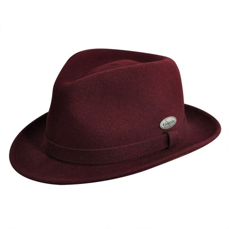 Kangol LiteFelt Hiro Trilby - Soft Wool Fedora Hat $105.00   Fedoras are in: Adorning the heads of primetime and big screen heroes, detectives, and bad guys alike, the fedora is making a sweeping comeback in American fashion. Join the wave the right way by sporting the LiteFelt Hiro Trilby from Kangol. This style is worthy of your attention for many reasons, including the fact that it is made right in the United States from Texas raised sheep's wool. This highly durable hat has been treated…