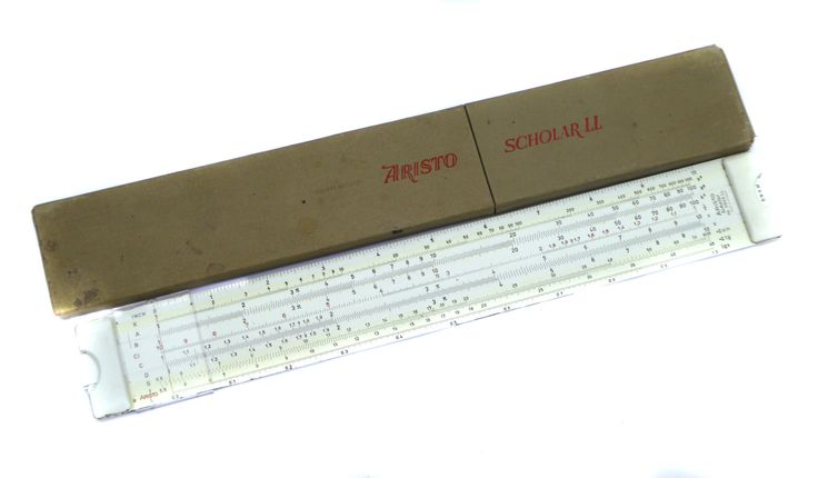 ARISTO Scholar Nr0903 Slide Rule Made in Germany DBGM with Carry Case Vintage Slide Rule Vintage Math Vintage School Vintage Science by BiminiCricket on Etsy