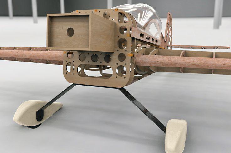 Avión acrobático aeromodelismo