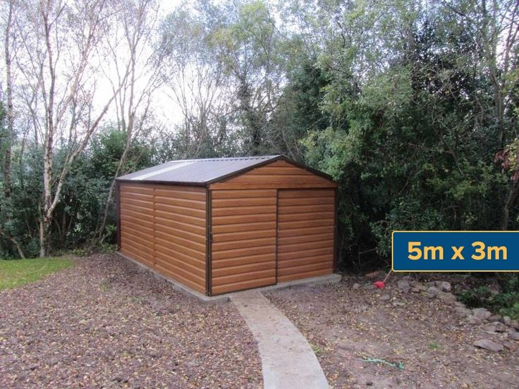 Steel Sheds and Garages Ireland, Galway, Limerick, Steel sheds and garages, Chalets, Greenhouses, Concrete Sheds, Timber sheds | Steeltech Sheds