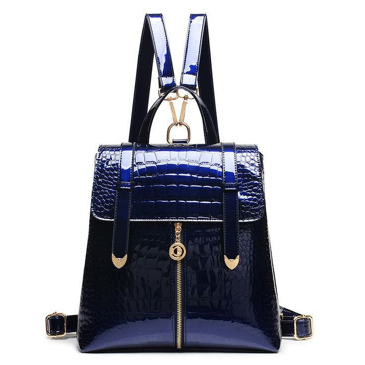 Hot 2017 Alligator Grain Women Fashion Crocodile Blue Patent Leather Backpack Women's Backpack Bag Girl School Backpack N24     Tag a friend who would love this!     FREE Shipping Worldwide     Buy one here---> http://onlineshopping.fashiongarments.biz/products/hot-2017-alligator-grain-women-fashion-crocodile-blue-patent-leather-backpack-womens-backpack-bag-girl-school-backpack-n24/