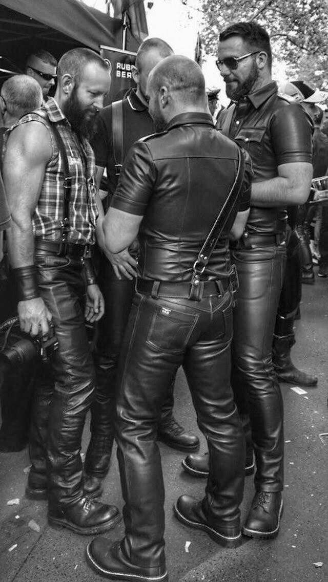 Oregonleatherboy Tumblr Com Leather Jacket Men Mens