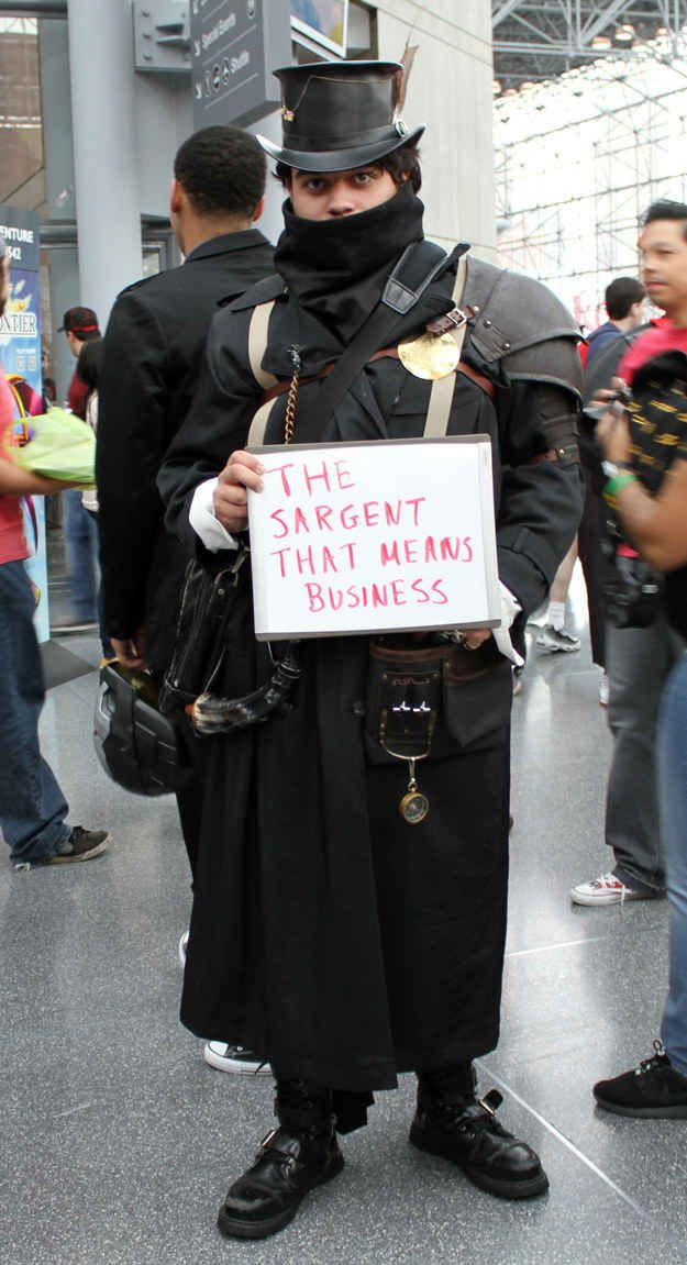 Rebecca's Guess: | We Asked Someone Who Doesn't Know Anything About New York Comic Con To Name Cosplayers