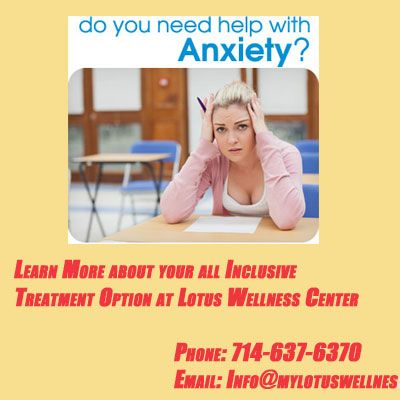 Anxiety Treatment Center In Orange County, Ca