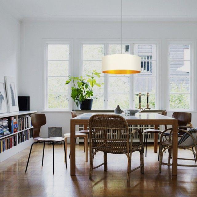 Die besten 25+ Pendelleuchte stoff Ideen auf Pinterest - Moderne Wohnzimmerlampen