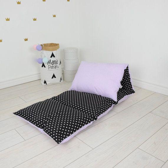 tapis de sieste oreiller lit bébé dort soirée par MamaPotrafi
