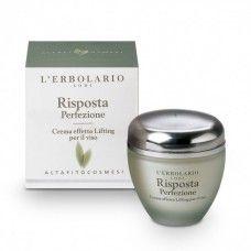 Risposta lifting hatású arckrém - Rendeld meg online! Lerbolario Naturkozmetikumok http://lerbolario-naturkozmetikumok.hu/kategoriak/arcapolas/risposta-fitokozmetikumok