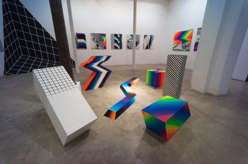 exhibition-ism:  Paintings and installations by Felipe Pantone. #Conceptual Art #концептуальное искусство #Arte concettuale #Art conceptuel #Arte conceptual #Konzeptkunst 🌟🎨 - https://wp.me/p7Gh1Z-12j #kunst #art #arte #sztuka #ਕਲਾ #konst #τέχνη #アート