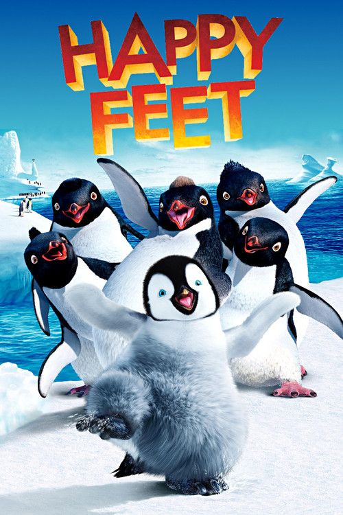 Happy Feet is Adventure, Animation movie . Movie features Lombardo Boyar, Robin Williams, Johnny A.
