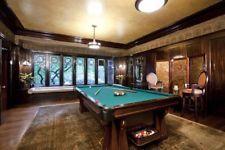 "Antique Brunswick Pool Table 9 Feet ""The Arcade"""