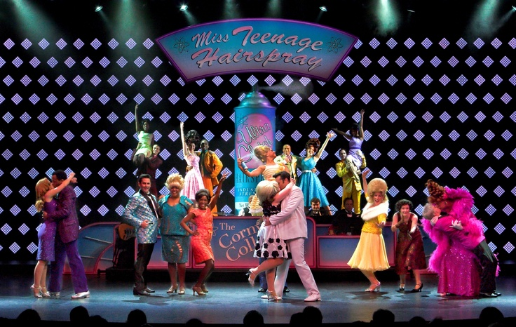 Hairspray brings big hair and bigger entertainment! #BroadwayAtSea