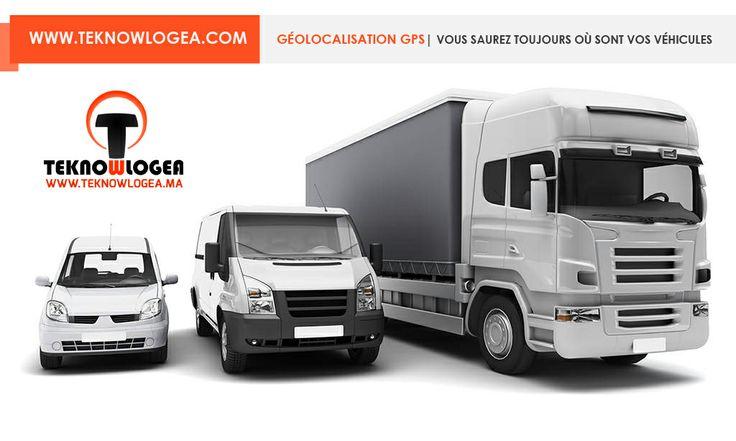 Système de géolocalisation gps au maroc et  gestion de flotte des véhicules (voiture, camion, moto) au maroc à petit prix. www.teknowlogea.com/geolocalisation-gps-maroc