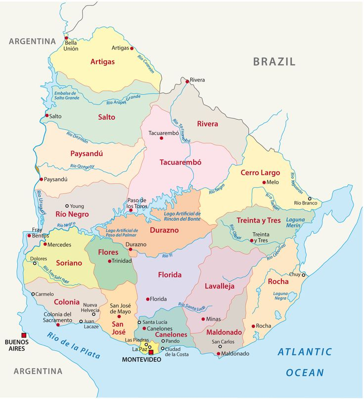The Best Uruguay Map Ideas On Pinterest Argentina Map Map - Map of uruguay