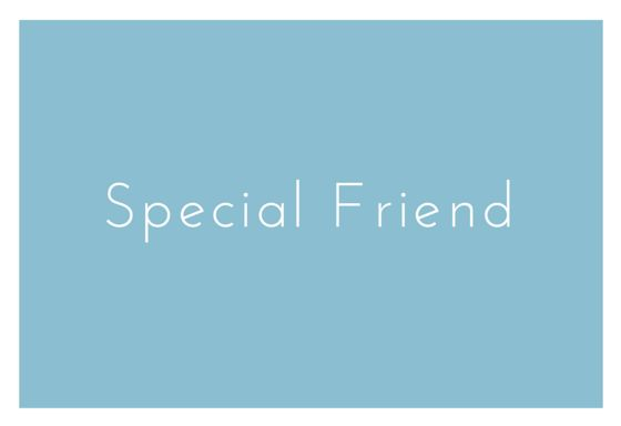 Read about the special friend mail from Door Jolanda