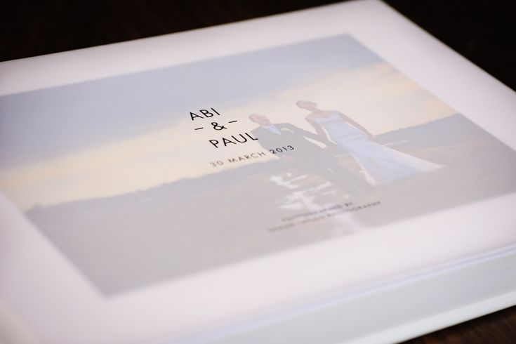 Contemporary Wedding Album | Designed by Shaun Taylor Photography