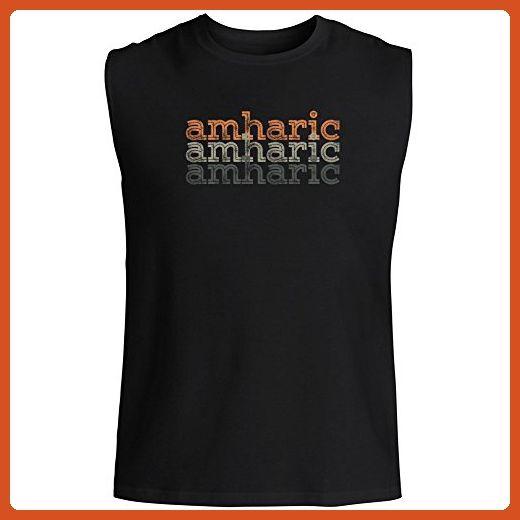 Idakoos - Amharic repeat retro - Languages - Sleeveless T-Shirt - Retro shirts (*Partner-Link)