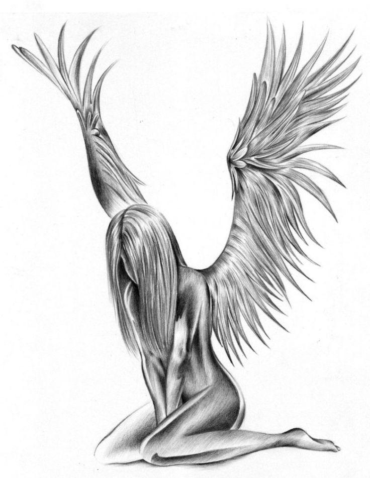 Ангелы картинки тату