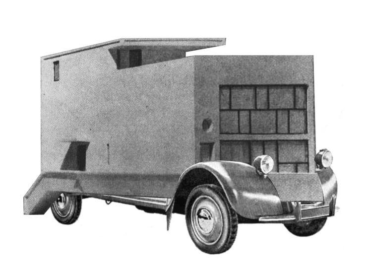 Machine a habiter - Maison Citrohan, 1921 - Citroen 2CV, 1948