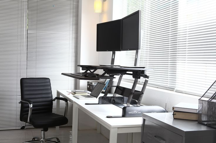 The VARIDESK Single looks stunning in a modern office environment. Easily moved to where ever you choose to work