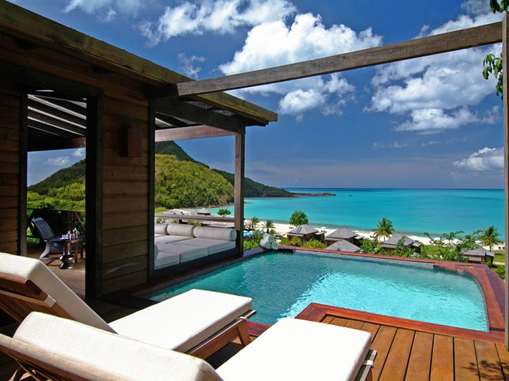 Need a relaxing getaway? Head to #Antigua   Romance, white beaches, amazing water... Hermitage has it all! www.BookitwithJanet.com
