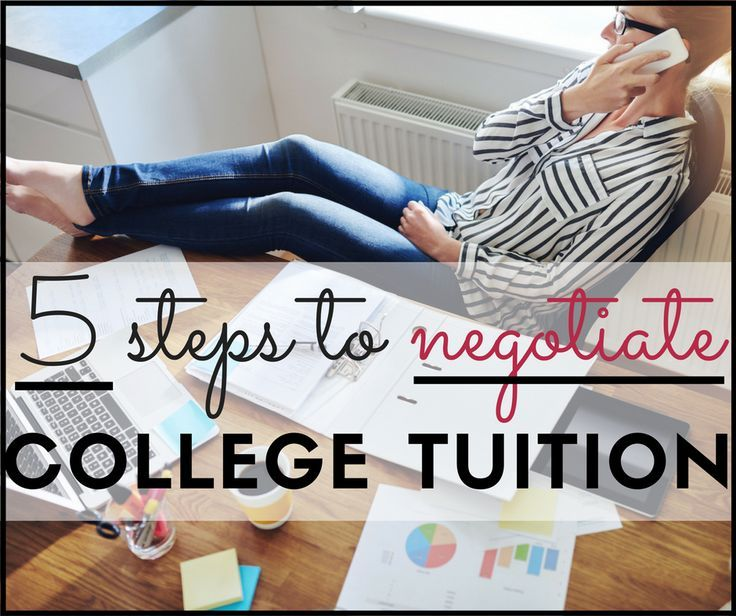 Average college tuition & fees increased by 9%. If your child is heading to college or already there, you may be able to (surprisingly) save by negotiating college tuition. Here are 5 steps to take.