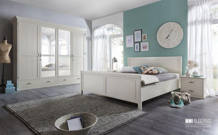 Drewniane meble do sypialni Nice od MMI Sleeping