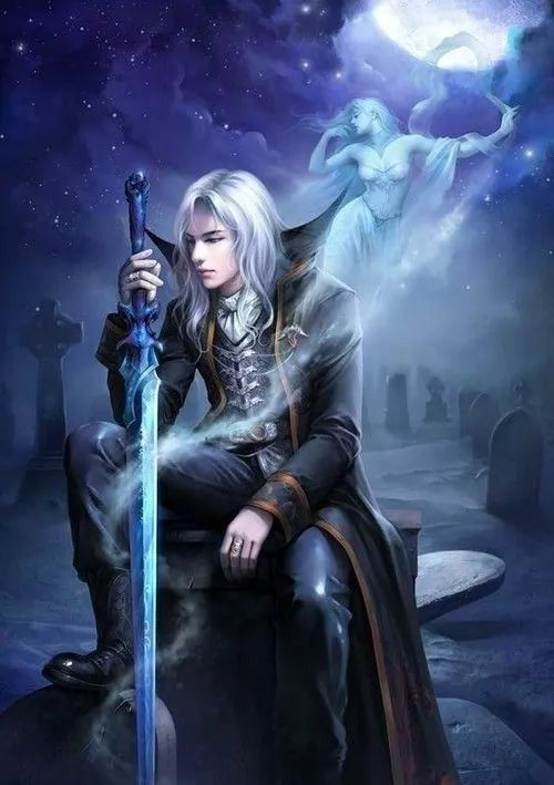 Pretty sure this is Alucard, from Symphony of the Night.