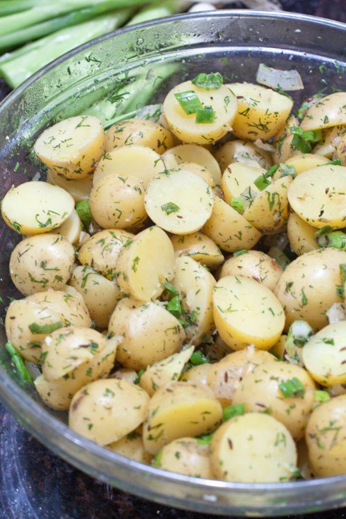 German Potato Salad Recipe Dill