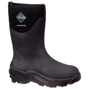 The Original Muck Boot Company MuckMaster 13'' Waterproof Commercial Grade Boots for Men - Black - 10 M