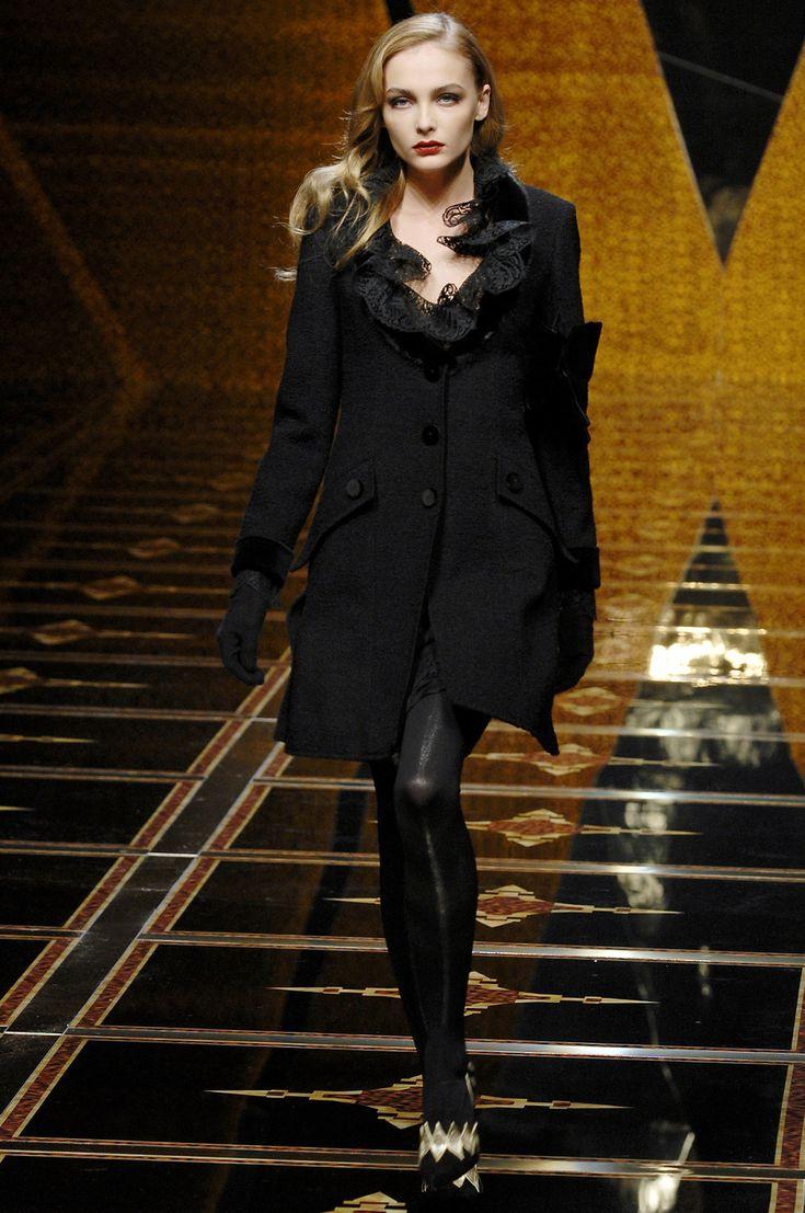 Valentino at Paris Fashion Week Fall 2007