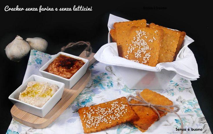 Cracker senza farina e senza latticini http://www.senzaebuono.it/cracker-senza-farina-senza-latticini/